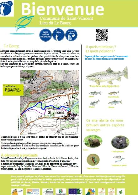 Parcours pêche passion : Le bourg