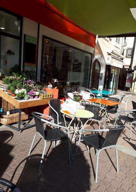 Terrasse Empreintes végétales - Issoire
