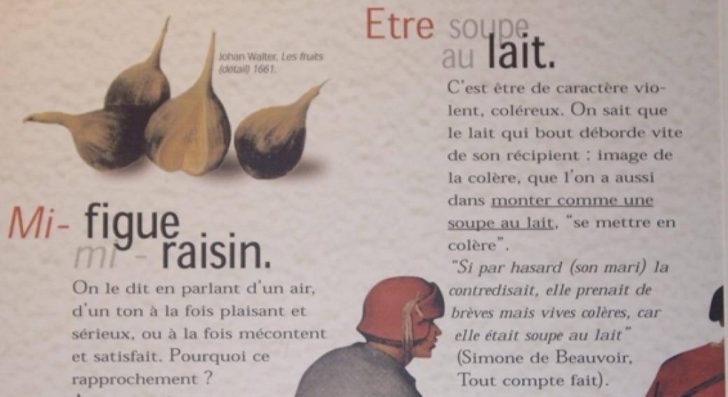 Exposition 'Les mots de la gourmandise'
