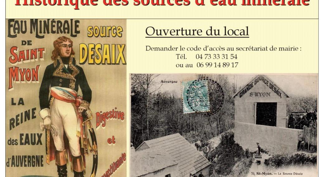 Musée des Sources de Saint-Myon