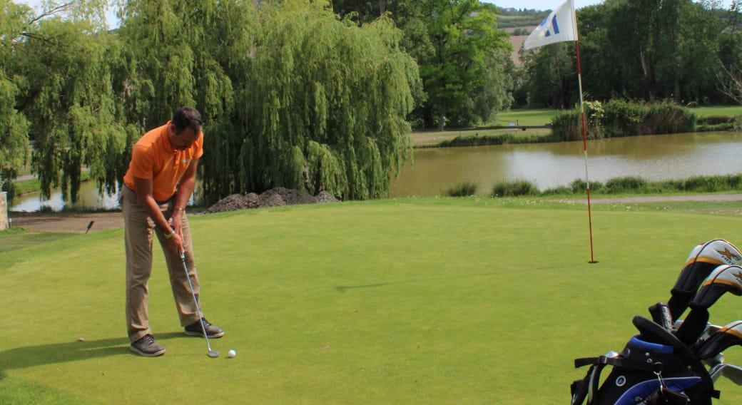 Compétition de golf au Val d'Auzon au Crest