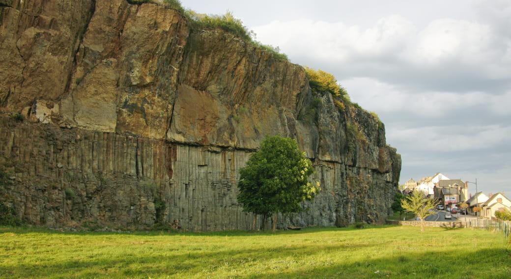Orgues basaltiques de Saint-Flour Cantal