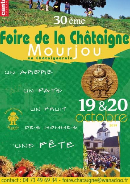 30ème édition de la Foire de la Châtaigne à Mourjou