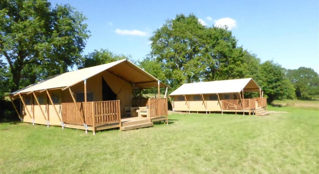 Les safari-lodge-tentes