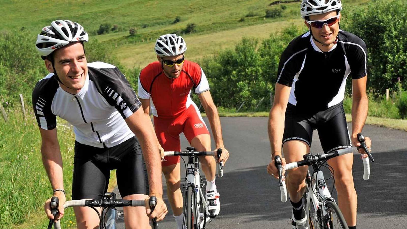 cyclo - circuit d'Orcival au Guéry
