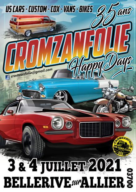 Cromzanfolie Happy Days 2021