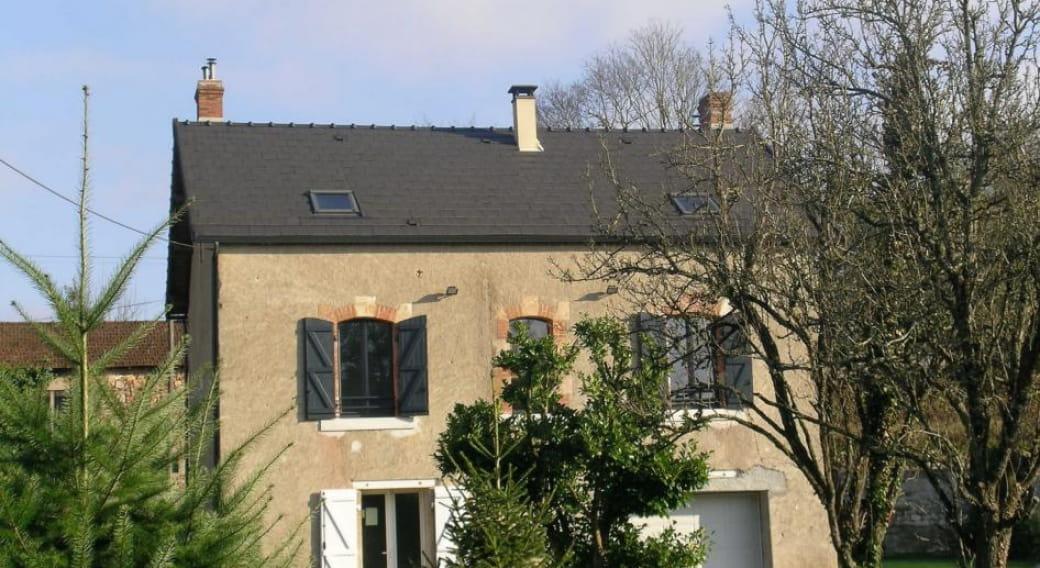 Gite Anthracite, URCAY, Allier en Auvergne.