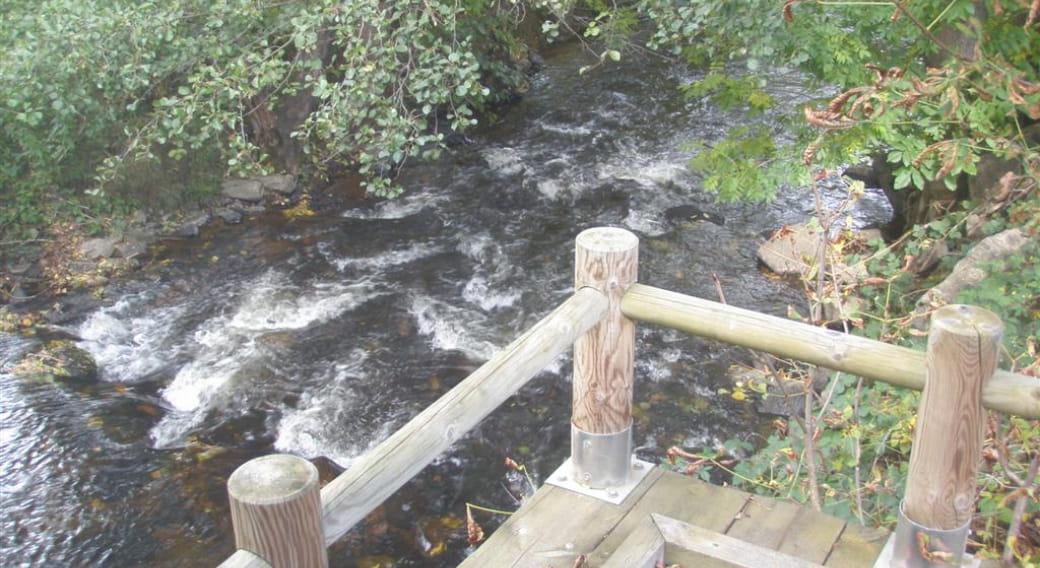Site de pêche Daniel Chaillou de la Couze d'Ardes (Parcours PMR)