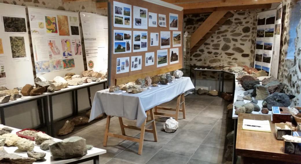 Exposition de roches et minéraux - Géologie en Val d'Allier