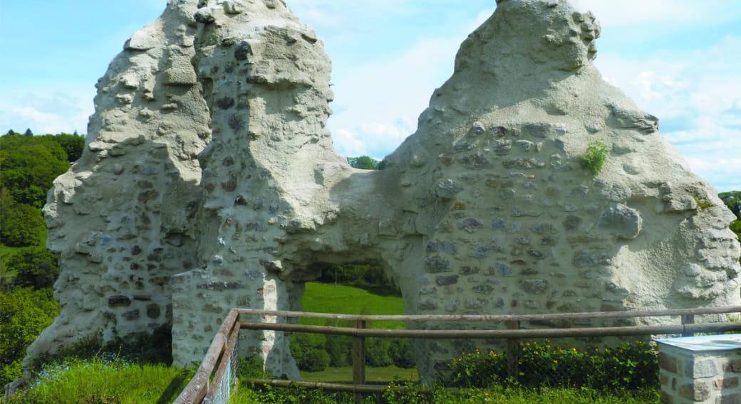 Castle Thynière ruins - Point of view