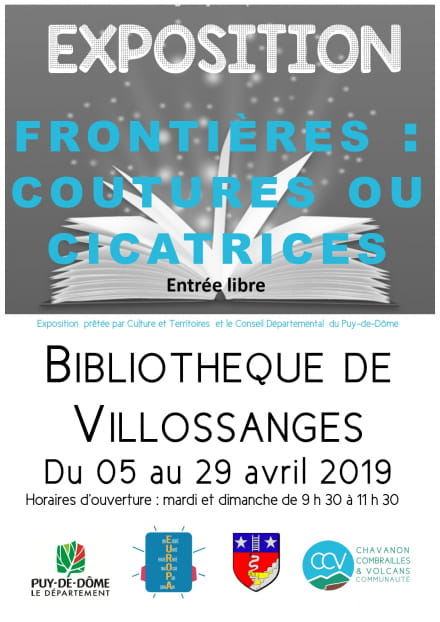 Exposition - Frontières : coutures ou cicatrices