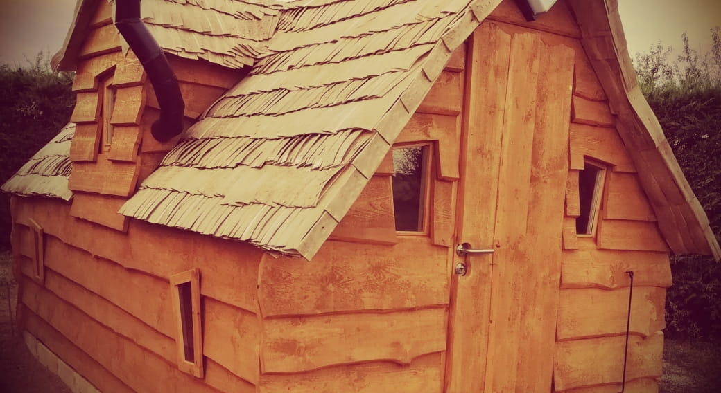 Les cabanes magiques de Mariegillou