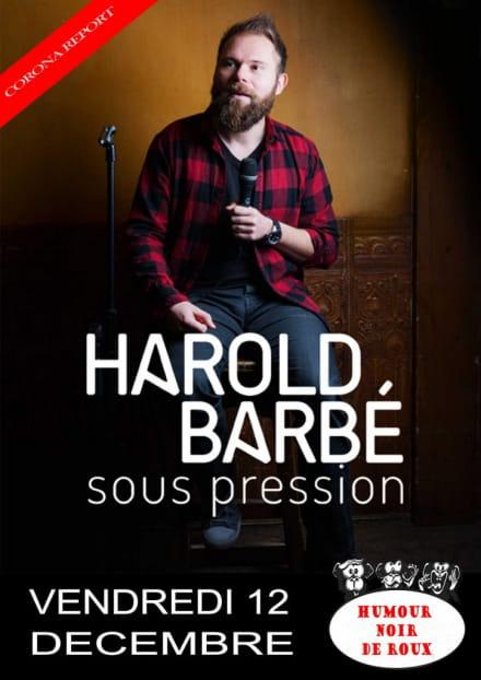 La baie des singes : Harold Barbé