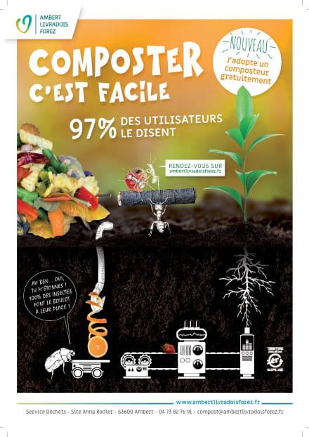 Semaine Européenne du Développement Durable: formations déchets verts et compostage