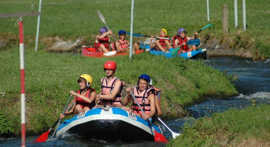 Vichy Aventure - Hydrospeed / Rafting sur rivière artificielle