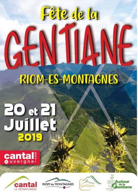 Fête de la Gentiane à Riom-Es-Montagnes
