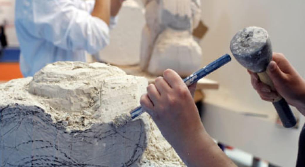 XIV ème Rencontre des Sculpteurs et tailleurs de pierres à Menet