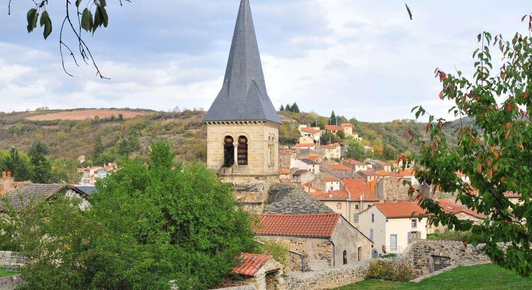 Église sainte-croix de Champeix