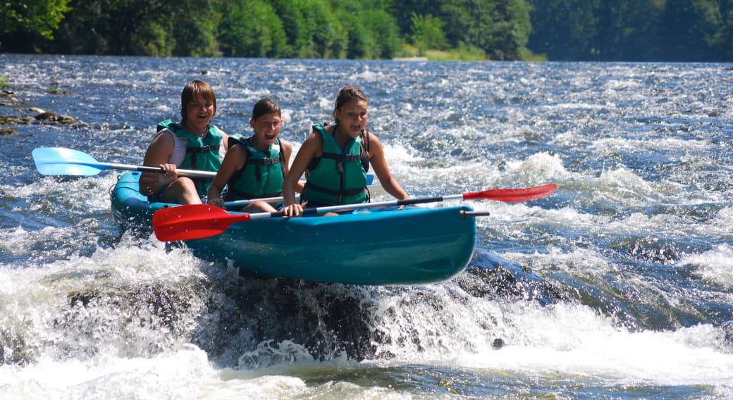 Descente accompagnée en kayak - Asvolt