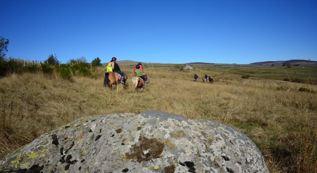 Balade à cheval à la Ferme des Burons