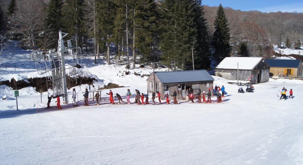 Station de sports d'hiver de Saint-Urcize