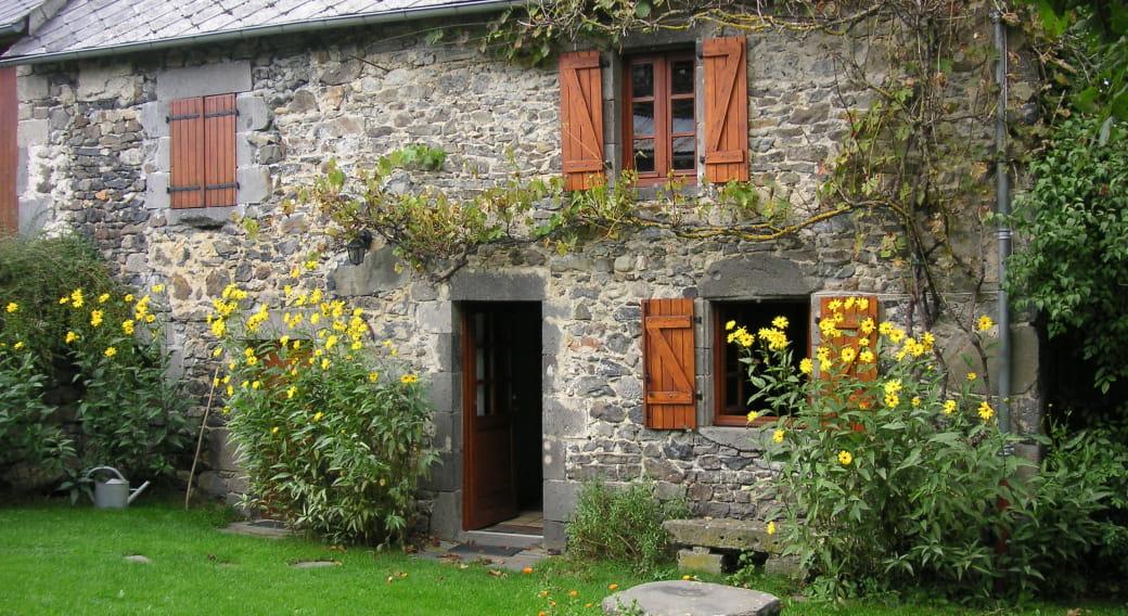 Maison La Petite Ferme Saint Bonnet Près Orcival extérieur
