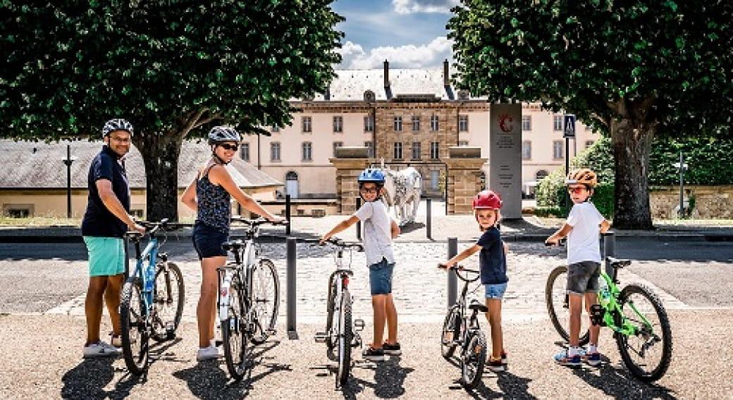 Séjour Moulins et sa région à vélo