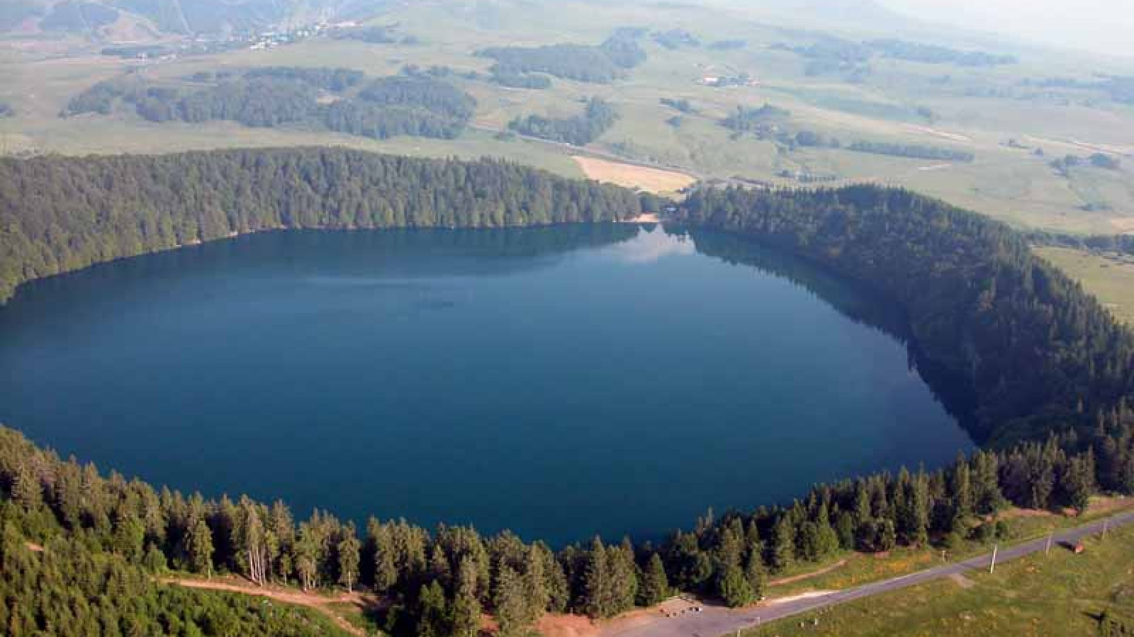 La Couze et lac Pavin