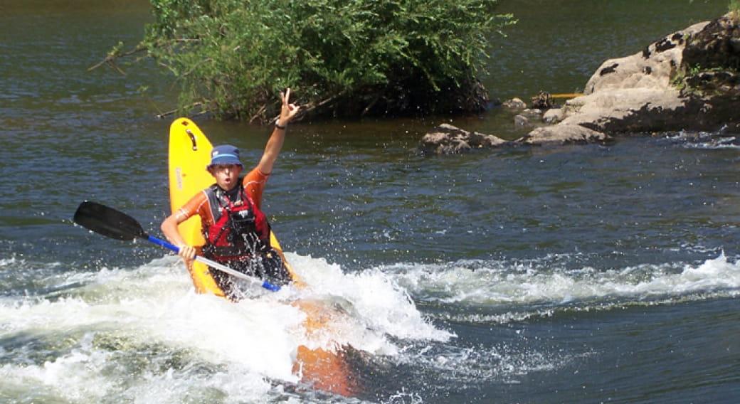Yak'ados Kayak Freestyle - Asvolt
