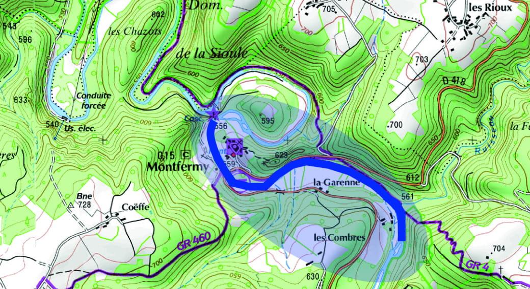 Parcours no-kill - La Sioule de Peschadoire à Montfermy