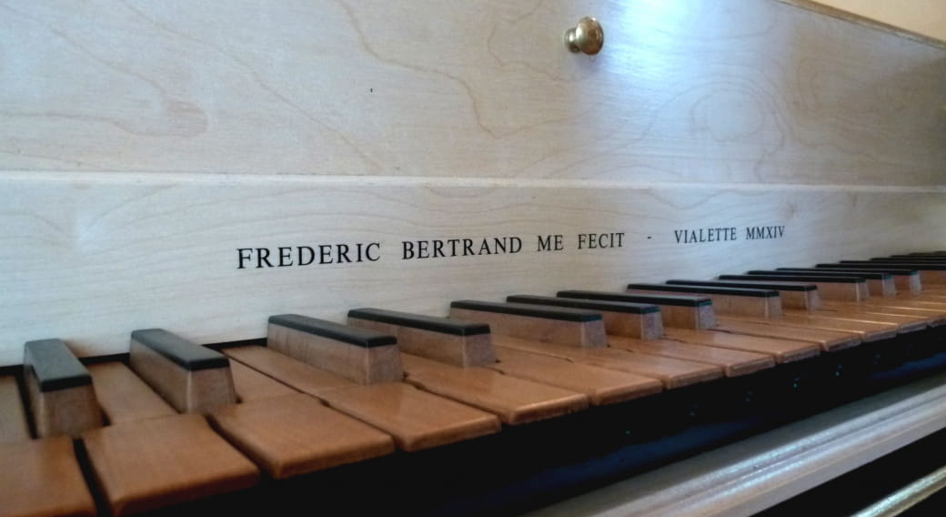 Frédéric Bertrand - facteur et restaurateur de clavecin