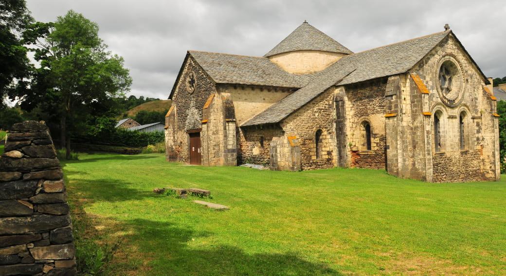 Visite de l'abbaye de Mégemont