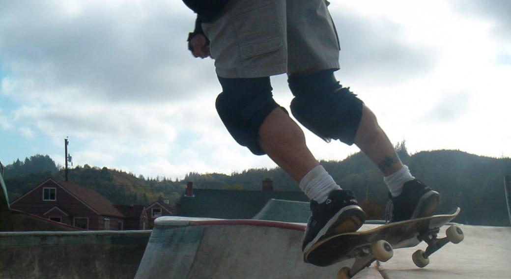 Piste de Skate Board de Vic sur Cère