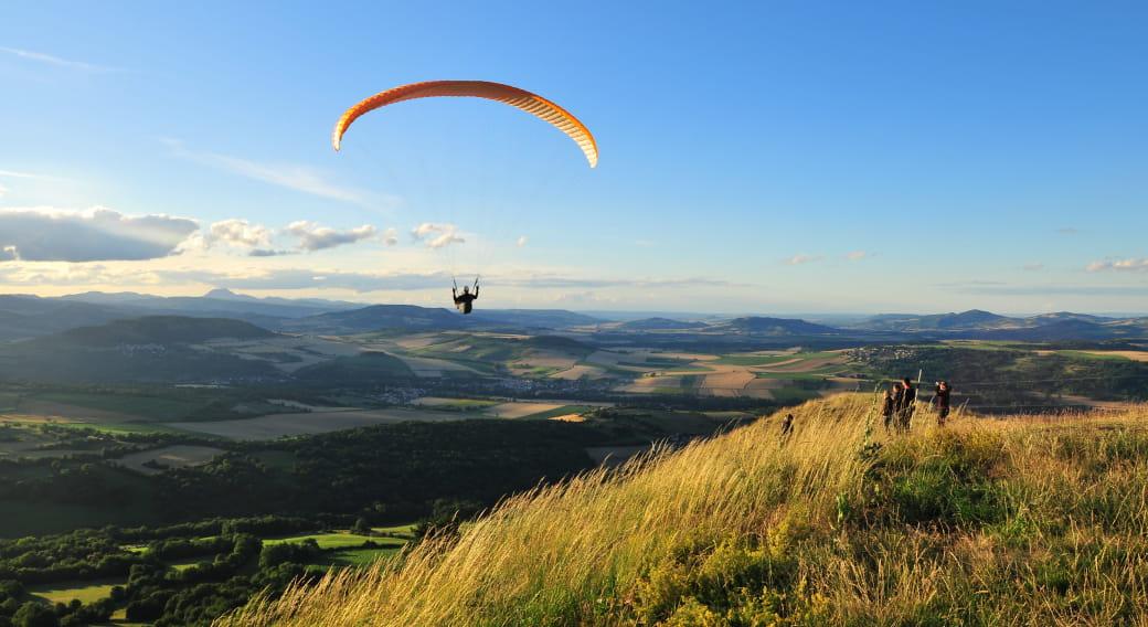 Site de vol Parapente et deltaplane : pic d'Ysson