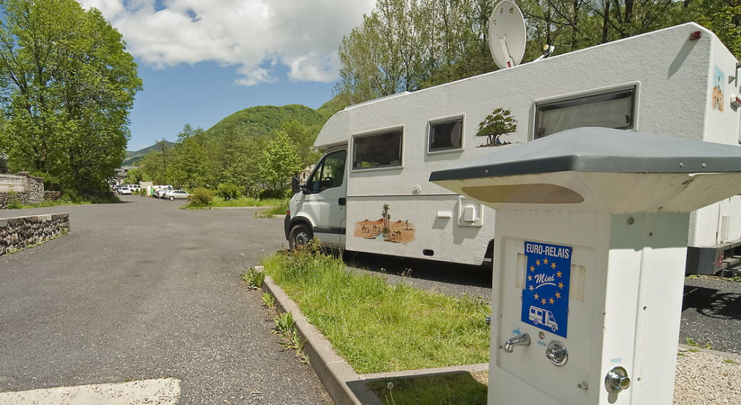 Aire camping cars communautaire