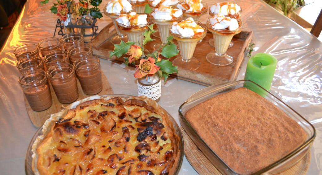 Succombez aux pâtisseries  sans gluten et sans lactose