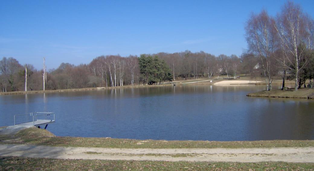Site de pêche - Plan d'Eau La Bregirolle