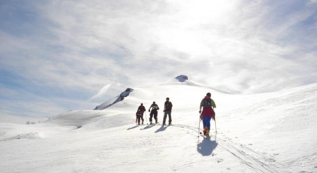 Ski de rando avec le Bureau des guides Auvergne