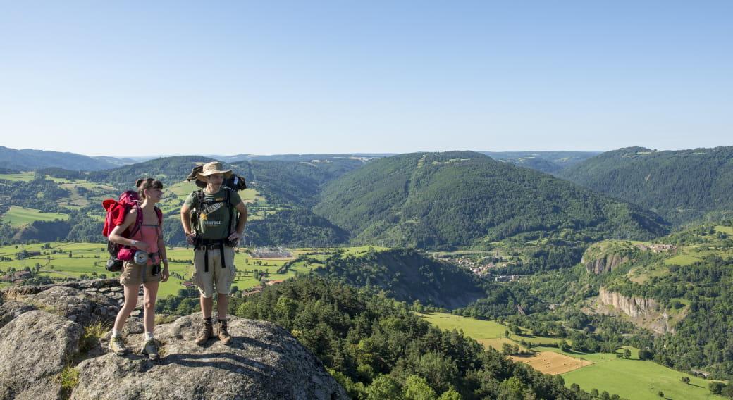 Gr 65 Sentier Vers Saint-Jacques-De-Compostelle Au Départ du Puy-En-Velay..