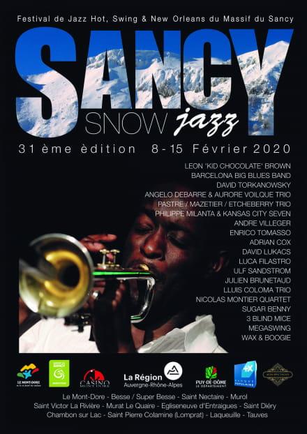 Festival Sancy Snow Jazz - ANNULÉ