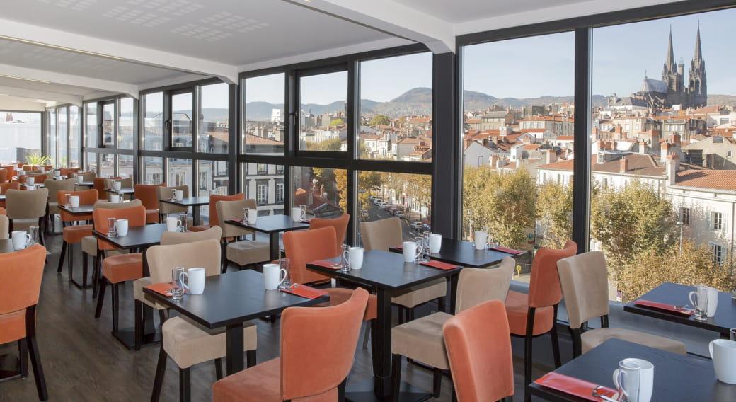 Salle déjeuner - Best western plus hôtel littéraire Alexandre Vialatte