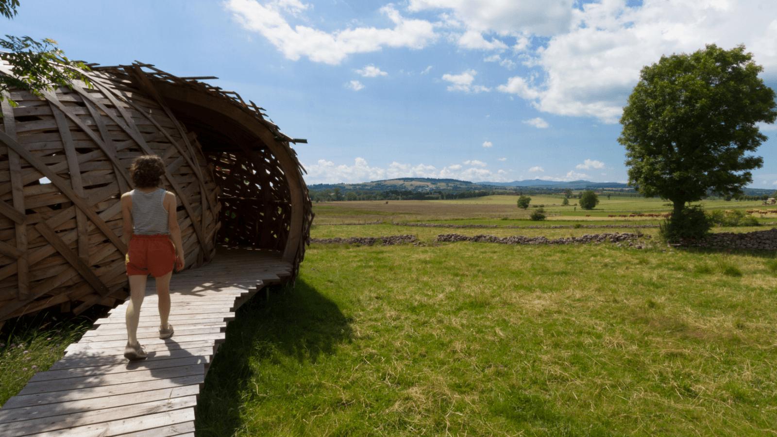 Narse de Lascols, sentier découverte, Cantal