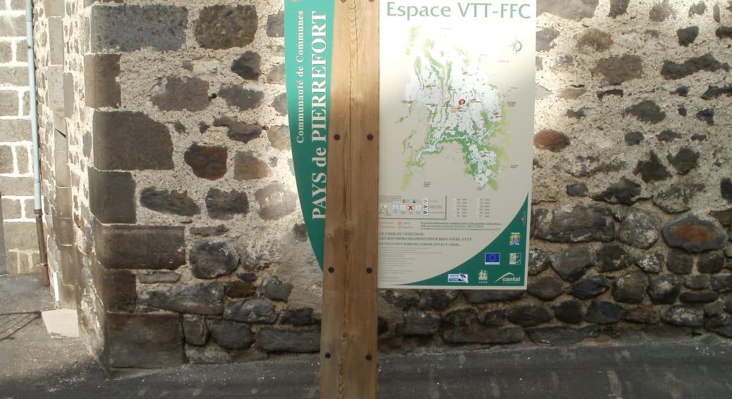 Panneau site VTT-FFC