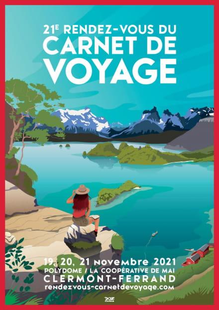 Affiche rendez-vous du carnet de voyage