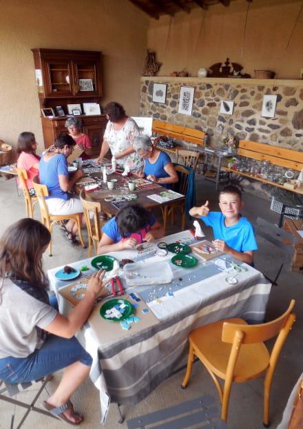 Atelier mosaïque 'Tesselles en Fleurs'