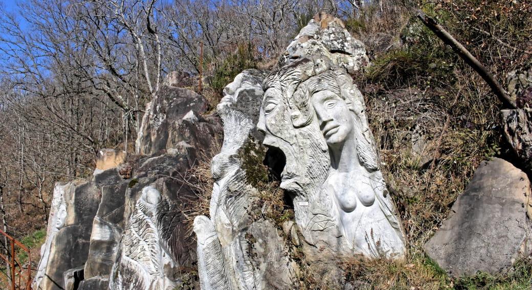 Les Rochers de Rufino, parc de sculptures