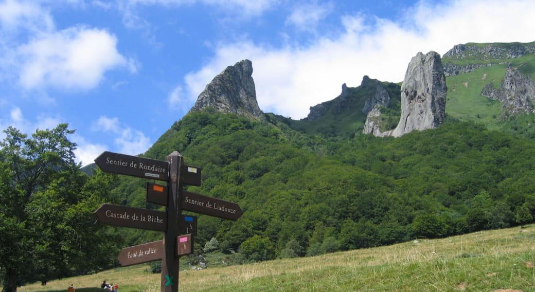 Site d'escalade de Chambon-sur-Lac