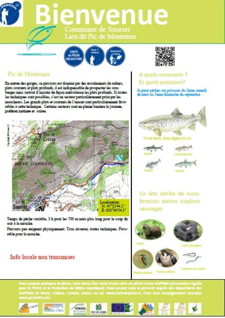 Parcours pêche passion : Pic de Montemoi
