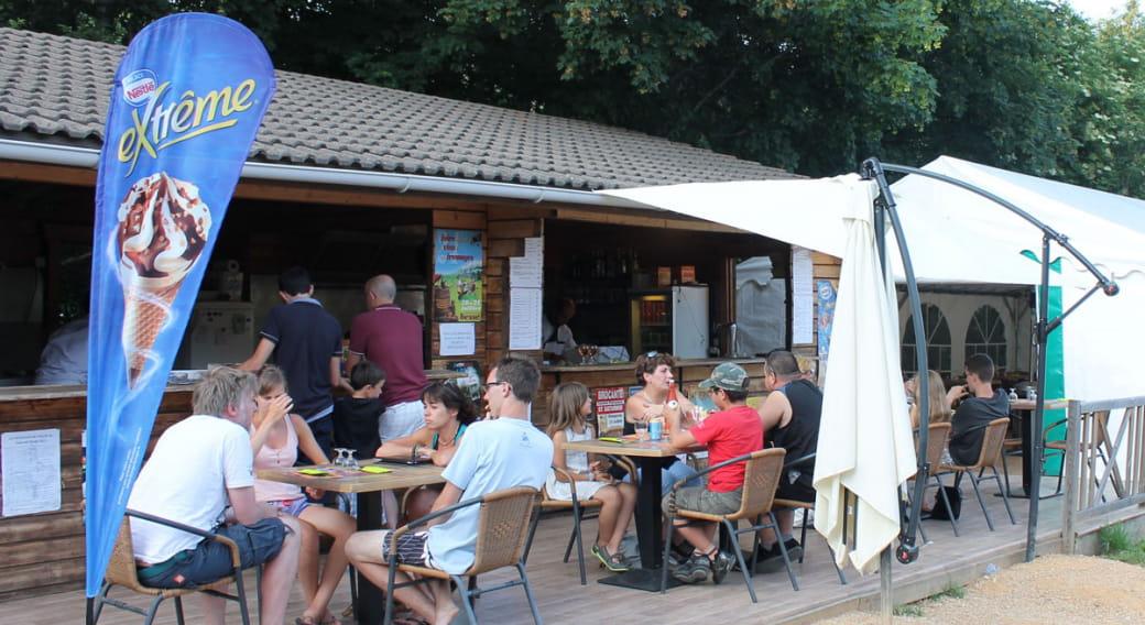 Snack-Pizzeria Les Fougères - Domaine du Marais