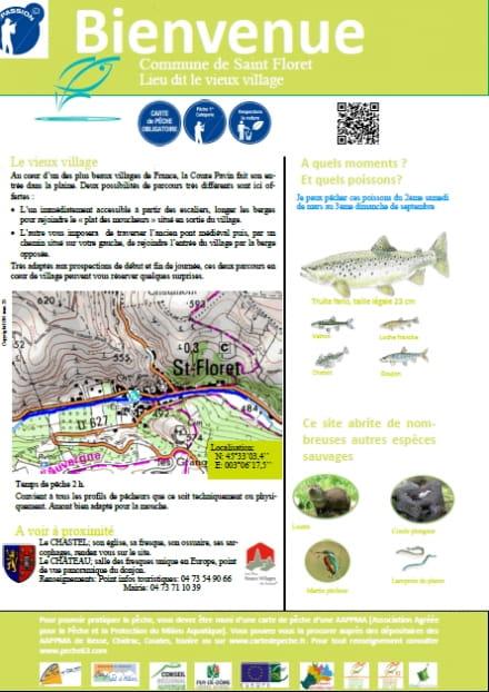 Parcours pêche passion : le vieux village